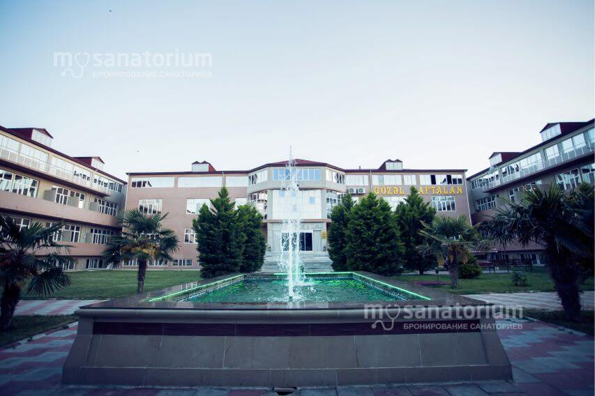 Санаторий Красивый Нафталан (Gozel Naftalan) Krasiviy Naftalan